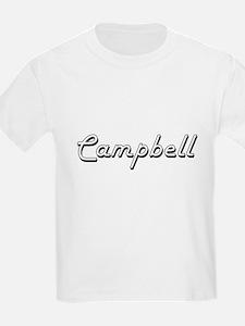 Campbell Classic Retro Name Design T-Shirt