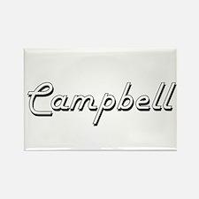 Campbell Classic Retro Name Design Magnets