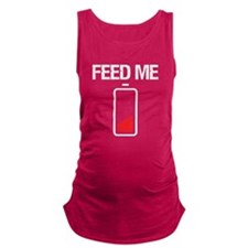 Feed Me Maternity Tank Top