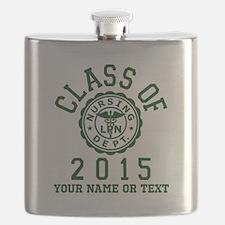 Class Of 2015 LPN Flask