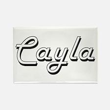 Cayla Classic Retro Name Design Magnets