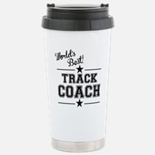 Worlds Best Track Coach Travel Mug