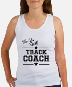 Worlds Best Track Coach Tank Top