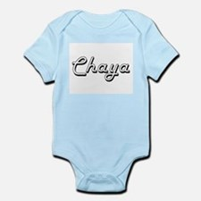 Chaya Classic Retro Name Design Body Suit