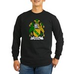 Tipping Family Crest Long Sleeve Dark T-Shirt