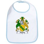 Tipping Family Crest  Bib