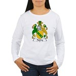 Tipping Family Crest  Women's Long Sleeve T-Shirt