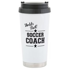 Worlds Best Soccer Coach Travel Mug