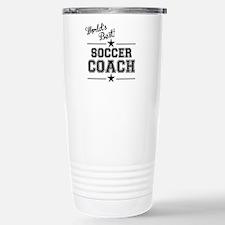 Worlds Best Soccer Coach Travel Mug
