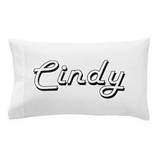 Cindy Classic Retro Name Design Pillow Case