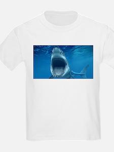 Big White Shark Jaws T-Shirt