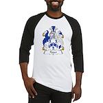 Tippet Family Crest Baseball Jersey