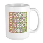 Geek in Binary Code Large Mug