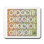 Geek in Binary Code Mousepad