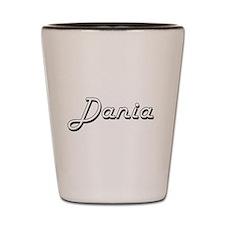 Dania Classic Retro Name Design Shot Glass