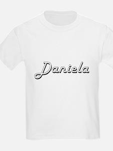 Daniela Classic Retro Name Design T-Shirt