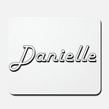Danielle Classic Retro Name Design Mousepad