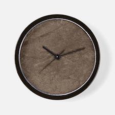 True Grit Bronze Wall Clock