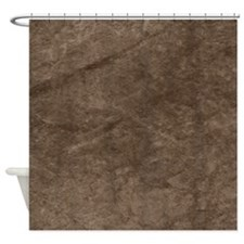 True Grit Bronze Shower Curtain