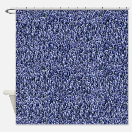 Texas Bluebonnets Shower Curtain