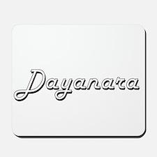 Dayanara Classic Retro Name Design Mousepad