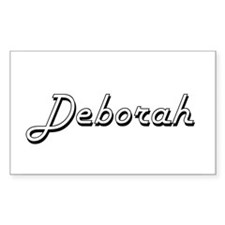 Deborah Classic Retro Name Design Decal