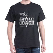 Worlds Best Softball Coach T-Shirt