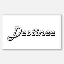 Destinee Classic Retro Name Design Decal