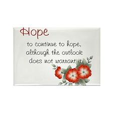 Hope Cherry Blossom's Rectangle Magnet