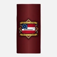 1st Kentucky Infantry Beach Towel