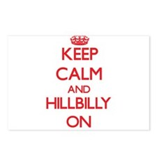 Keep Calm and Hillbilly O Postcards (Package of 8)