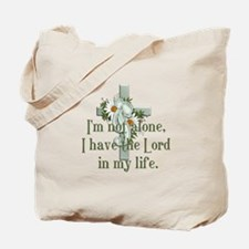I'm Not Alone Tote Bag