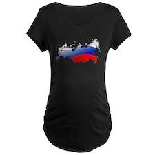 """""""Russia Bubble Map"""" T-Shirt"""