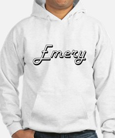 Emery Classic Retro Name Design Hoodie