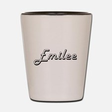 Emilee Classic Retro Name Design Shot Glass