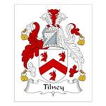 Tilney Family Crest Small Poster