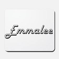 Emmalee Classic Retro Name Design Mousepad