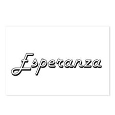Esperanza Classic Retro N Postcards (Package of 8)