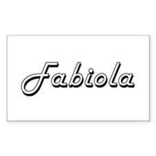 Fabiola Classic Retro Name Design Decal
