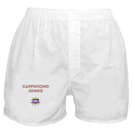 Cappuccino Junkie Boxer Shorts