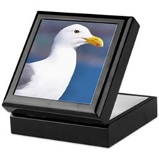 western gull Keepsake Box