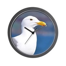 western gull Wall Clock