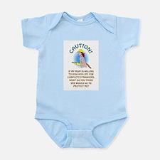 CAUTION! Infant Bodysuit
