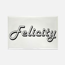 Felicity Classic Retro Name Design Magnets