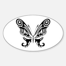 BUTTERFLY 9 Oval Decal