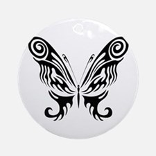 BUTTERFLY 9 Ornament (Round)