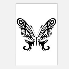 BUTTERFLY 9 Postcards (Package of 8)