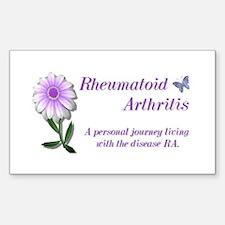 Rheumatoid Arthritis Rectangle Decal