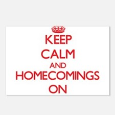 Keep Calm and Homecomings Postcards (Package of 8)