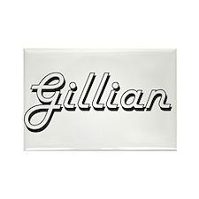 Gillian Classic Retro Name Design Magnets